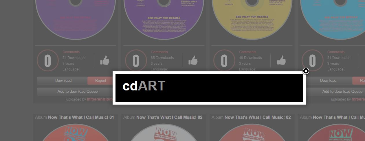 error download various artist cdart.JPG